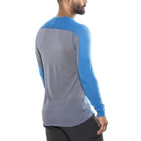 Norrøna Bitihorn Wool - T-shirt manches longues Homme - bleu
